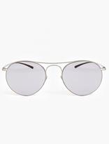Mykita X Maison Margiela Silver MMESSE 005 Sunglasses