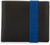 Original Penguin Leather Pop Strap Bifold Wallet, Black