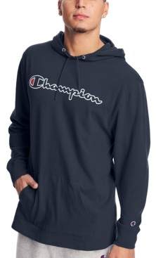Champion Men's Middleweight Jersey Graphic Hoodie