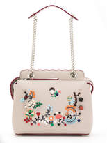 Fendi embroidered Dotcom shoulder bag