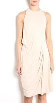 Acne Piper Ruched Jersey Dress