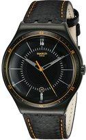 Swatch Men's YWB401 Irony Analog Display Swiss Quartz Watch