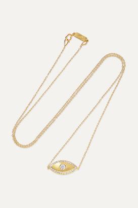 Jennifer Meyer Evil Eye 18-karat Gold Diamond Necklace - one size