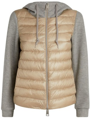 Herno Quilted Jersey Hooded Jacket