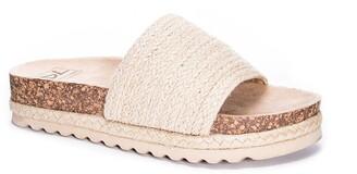 Chinese Laundry Espadrille Slide Sandal