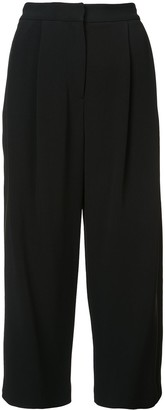 Adam Lippes Mid-Rise Pleated Culottes