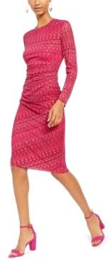 INC International Concepts Inc Geometric Print Midi Sheath Dress, Created For Macy's