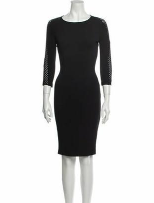 St. John 2015 Knee-Length Dress Black