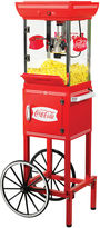 Nostalgia Electrics Coca-Cola Series 48 Popcorn Cart