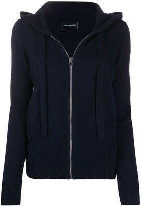Zadig & Voltaire Star-Patch Cashmere Hoodie