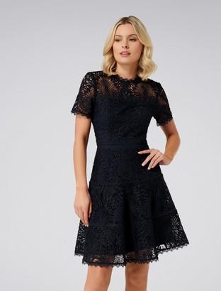 Forever New Jenni Lace Prom Dress - Navy - 6
