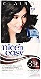 Clairol Nice 'n Easy Hair Color 122, 2 Natural Black 1 Kit (Pack of 3)