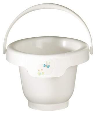 Bébé-Jou Bebe-Bubble 616559 Bath Bucket with Butterfly Design White