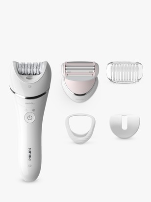 Philips BRE710/01 Series 8000 Wet and Dry Epilator, 4 attachments