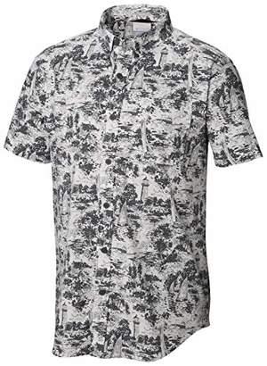 Columbia Men's Rapid Rivers Printed Short Sleeve Shirt