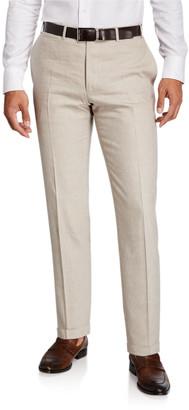 Canali Men's Linen-Wool Pants