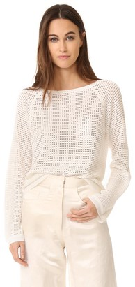 Theory Women's Prosheen Prosecco Sweater