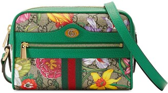 Gucci Ophidia GG Flora mini crossbody bag