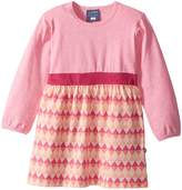 Toobydoo Geo Pink Play Dress Girl's Dress