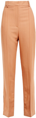 KHAITE Carla Twill Straight-leg Pants