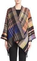 Missoni Check Knit Wool Blend Shawl
