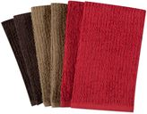 Bed Bath & Beyond Solid Assorted Colors Kitchen Towels (Set of 6)