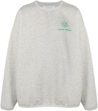 Societe Anonyme Logo Embroidered Sweatshirt