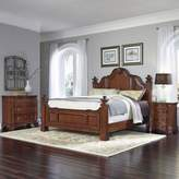 Home Styles Santiago 3-Piece King Bed, Nightstand, and Chest Set