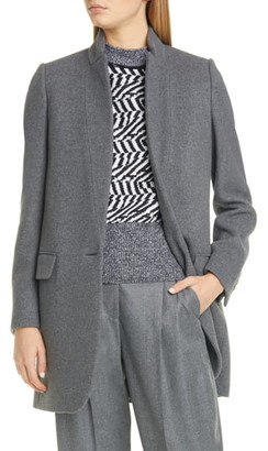 Stella McCartney Bryce Wool Blend Melange Jacket