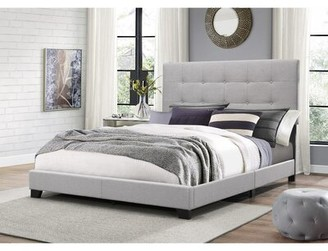 Charm Furniture Luxury Home and Garden Gray Panel Bed