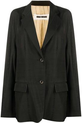 UMA WANG Oversized Long-Sleeved Blazer