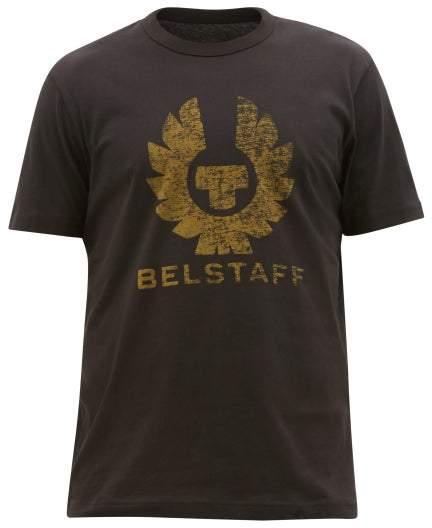 Belstaff Coteland 2.0 Cotton-jersey T-shirt - Mens - Black