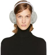 Yves Salomon Grey Fur Earmuffs