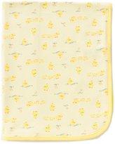 Little Me Duck Print Blanket