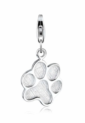 Elli Charms Cat Paw Animal 925 Sterling Silver
