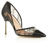 Kurt Geiger Women's Bond Pointed-Toe Pumps