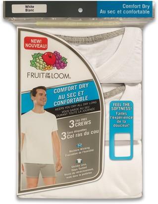 Fruit of the Loom Men's Comfort Dry -Shirt 3-Pack