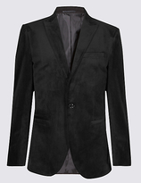 M&S Collection Velvet Jacket