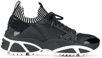 MICHAEL Michael Kors Lucas panelled low-top sneakers