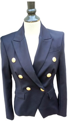 Flavio Castellani Blue Cotton Jacket for Women