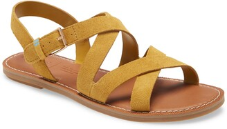 Toms Sicily Flat Sandal