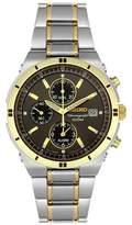 Seiko Men's SNA696 Two-Tone Chronograph Dial Watch