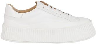 Jil Sander Low-Top Flatform Sneakers