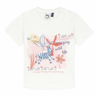 3 Pommes Baby Girls' 3q10012 Tee-Shirt Mc T
