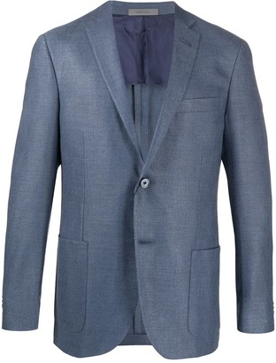 Corneliani Fitted Single-Breasted Blazer