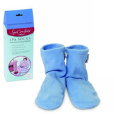Smallflower Medium - Large Sized Spa Socks by Spa Comforts