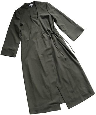 Ganni Spring Summer 2020 Green Polyester Dresses