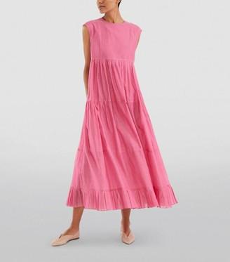 Max Mara Lidia Cotton-Silk Dress