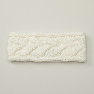 Love & Lore Eco Cable Headband Ivory
