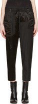 Haider Ackermann Black Patchwork Lounge Pants